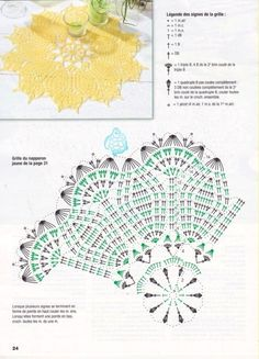 "Photo from album ""Diana Ouvrages 2016 on Yandex. Crochet Doily Diagram, Crochet Doily Patterns, Crochet Chart, Thread Crochet, Crochet Doilies, Crochet Lace, Crochet Stitches, Crochet Potholders, Crochet Tablecloth"