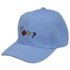 BLUE STAR HEART CAP