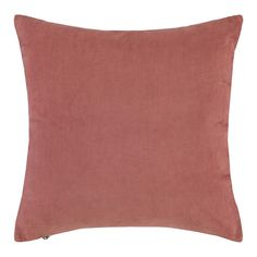 Essenza Riv Sierkussen 45 x 45 cm, voor ons bed Sweet Home, Throw Pillows, Retro, Iris, Earth, Studio, Cotton, Toss Pillows, House Beautiful