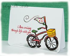 Lawn Fawn - Cruising Through Life _ cute CAS card by Catherine via Flickr - Photo Sharing!