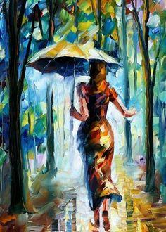 RUNING TOWARDS LOVE - AFREMOV by *Leonidafremov