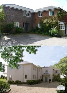 Traditional make over by Back to Front Exterior Design. Renovation transformation, the home is now remodelled, inside and out