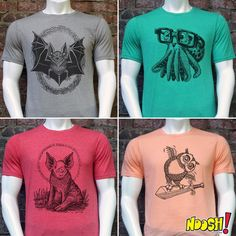 "Chris Neuenschwander (@nooshstudios) on Instagram: ""5 New T-shirt designs now available at NooshStudios.bigcartel.com (link in profile) Head over…"" New T Shirt Design, Shirt Designs, Printmaking, Printed Shirts, Profile, Inspirational, Link, Prints, Mens Tops"