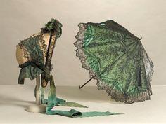 Bonnet and Parasol  1860s