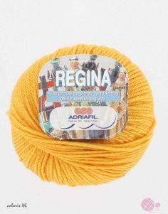 Adriafil Regina : La laine regina d'Adriafil est une pure laine mérinos traitée pour passer en machine. Très chaude et douce, elle se tricote ave des aiguilles 4.5. Knitting, Cotton, Tricot, Breien, Stricken, Weaving, Knits, Crocheting, Yarns