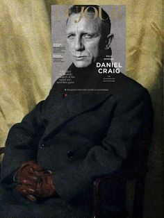 James Bond by James Gunn Daniel Craig, Dujour Magazine Fall issue 2015 + Portrait of Richard Henry Hunter by Sir James Gunn James Gunn, James Bond Movies, Daniel Craig, Digital Photography, Cover Art, Album Covers, Graphic Design, Magazine, Portrait