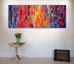Buy Gypsy Girl Dancing in the Night III - 150x60x2 cm - Big Painting XXXL - Large Abstract, Supersized Painting - Ready to Hang, Hotel Wall Decor, Acrylic painting by Soos Tiberiu on Artfinder. Discover thousands of other original paintings, prints, sculptures and photography from independent artists.