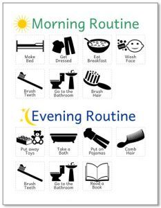 morning-and-evening-routine