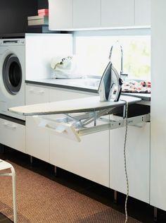 Bilderesultat for praktisk vaskerom Mudroom, Laundry Room, Washing Machine, Home Improvement, Home Appliances, Cabinet, Storage, House, Inspiration