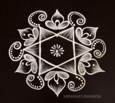 Rangoli Side Designs, Simple Rangoli Border Designs, Rangoli Designs Latest, Free Hand Rangoli Design, Small Rangoli Design, Rangoli Designs Diwali, Rangoli Designs With Dots, Beautiful Rangoli Designs, Rangoli Borders