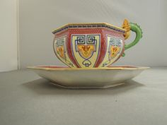 Sevres Sectionist cabinet cup and saucer