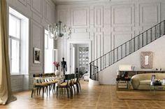 Design living room of the luxury vacation apartment in Vienna ...