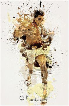 Perfect (Muhammad Ali Tribute) By Phantomkay Mohamed Ali Clay, Dojo, Muhammad Ali Wallpaper, Boxing Posters, Float Like A Butterfly, Boxing Champions, Black Artwork, Sports Art, American Comics