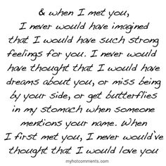 Never did I think that about you. You really surprised me. I wish I never met you though because I don't know how I'm going to get over you cause I will never see you again after you move next week. Cute Quotes, Great Quotes, Quotes To Live By, Funny Quotes, Inspirational Quotes, Instagram Quotes, Quotable Quotes, Qoutes, Quotations