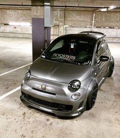 FIAT 500 Abarth - got wide ?