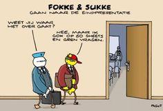Presentatie volgens Fokke en Sukke