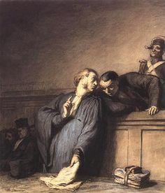 Daumier • A Criminal Case ca.1865