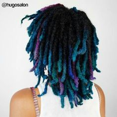 Image result for dyed locs
