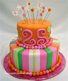 Best Birthday Cakes | Birthday Cakes  In your color scheme of course. Image Birthday Cake, 25th Birthday Cakes, Birthday Cake Pictures, Birthday Month, 75th Birthday, Birthday Gifts, Birthday Ideas, Party Cakes, Celebration Cakes