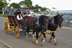 Mackinac Island Michigan, cars are banned since 1898