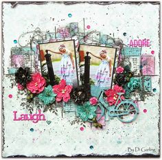 I created this layout for my December DT reveal for Scrap Around the World. My blog is discreativespace.blogspot.com.au