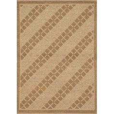 ECARPETGALLERY Impressions Braid Jute Handmade Beige/Light Brown Area Rug