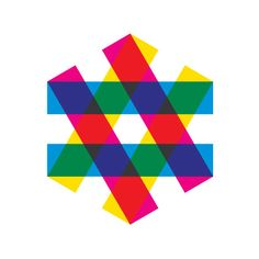 """Equality"" logo for the Zagreb Jewish Film Festival by Mirko Ilic"