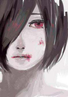 Naki Tokyo Ghoul, Ayato Kirishima, Ink Pen Art, Cute Anime Pics, Anime Poses, Anime Sketch, Kaneki, Fujoshi, Dark Fantasy