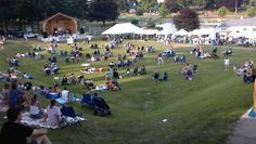 Every summer we have music and movies in the park!