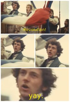"""""""The Real Les Mis Captions"""" - Grantaire is not amused."""