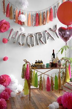 Party decoration for a great atmosphere Fiestas Party, Love Balloon, A Little Party, Celebrate Good Times, Party Decoration, Throw A Party, Diy Party, Party Ideas, Party Fun