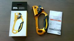 PETZL ASCENSION Right-Handed Rope Clamp Climbing Caving Hardware