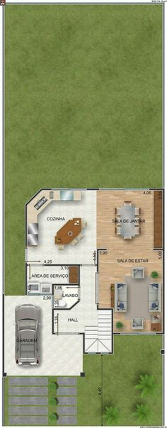leide pereira (marileidemary) on Pinterest - calcul surface habitable maison