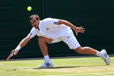Ernests Gulbis - The Championships - Wimbledon 2013: Day Six