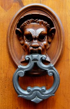 Decorative Door Knockers of Florence, Italy