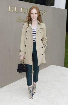 The Best of London Fashion Week Street Style to Inspire Your Fall Wardrobe Star Fashion, Fashion Outfits, Khaki Coat, Cool Street Fashion, Street Style Looks, Fall Wardrobe, London Fashion, Victorian Fashion, Autumn Winter Fashion