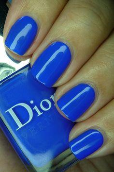 Dior Electric Blue