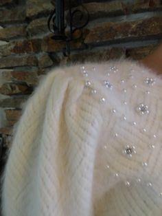 1980s angora sweater