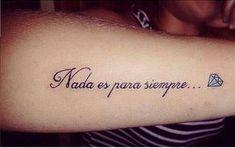Frases En Espanol Para Tatuarse Brujula Spanish Quotes Tattoos