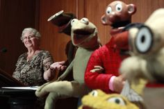 Jane Henson of Muppet Family Fame Dies at 78. *****Jane Henson, left, donates some of Jim Henson's early puppets, including the original Kermit, to the Smithsonian Institution. She and Jim Henson met in a University of Maryland puppetry class in the mid-1950s, In 1992, Jane Henson created and funded The Jim Henson Legacy to preserve his artistic contributions. RIP Dear Jane...