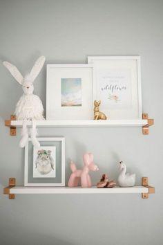 Baby shelf ideas!