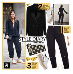 """Style Diary"" by sheisrebel ❤ liked on Polyvore featuring Victoria Beckham, STELLA McCARTNEY, Kayu, Illesteva, Estée Lauder and NARS Cosmetics"