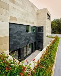 Image result for Modern stone house