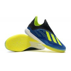size 40 36ab6 a07af Adidas X Tango 18+ IN Soccer Shoes - Football BlueSolar YellowCore