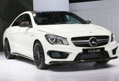 Mercedes Benz CLA 45 AMG Front