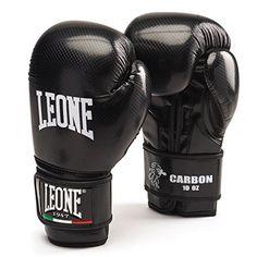 Leone 1947 Carbon Guantoni, Nero, 10 Oz LEONE 1947…