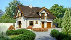 DOM.PL™ - Projekt domu Dom przy Alabastrowej 21 CE - DOM EB4-33 - gotowy projekt domu