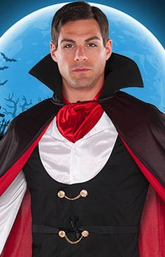 Check out our spooky range of men's vampire costumes on Party Delights - perfect for Halloween!