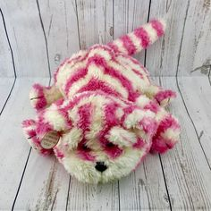 talking Large Bagpuss teddy toy Official Oliver Postgate & Peter Firmin 1999 cat