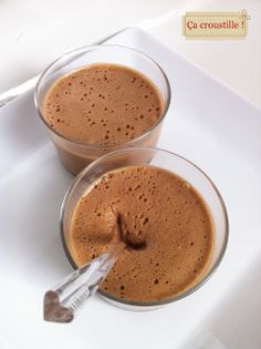 Mousses Michoko #recette #chocolat #mousse #dessert #facile